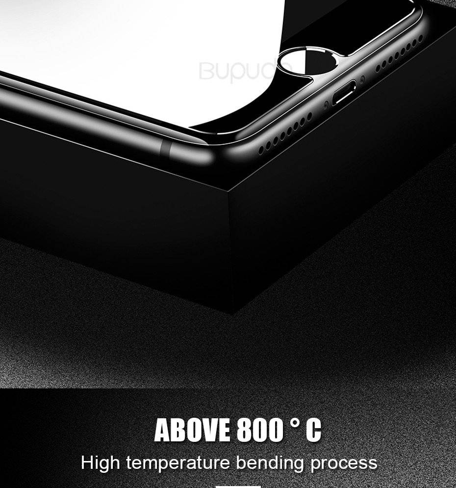 3pcs iPhone Tempered Full Cover Glass Screen Protector