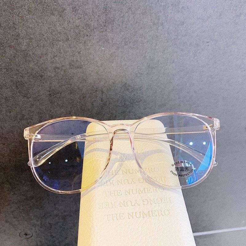Unisex Transparent Anti Blue Light Glasses