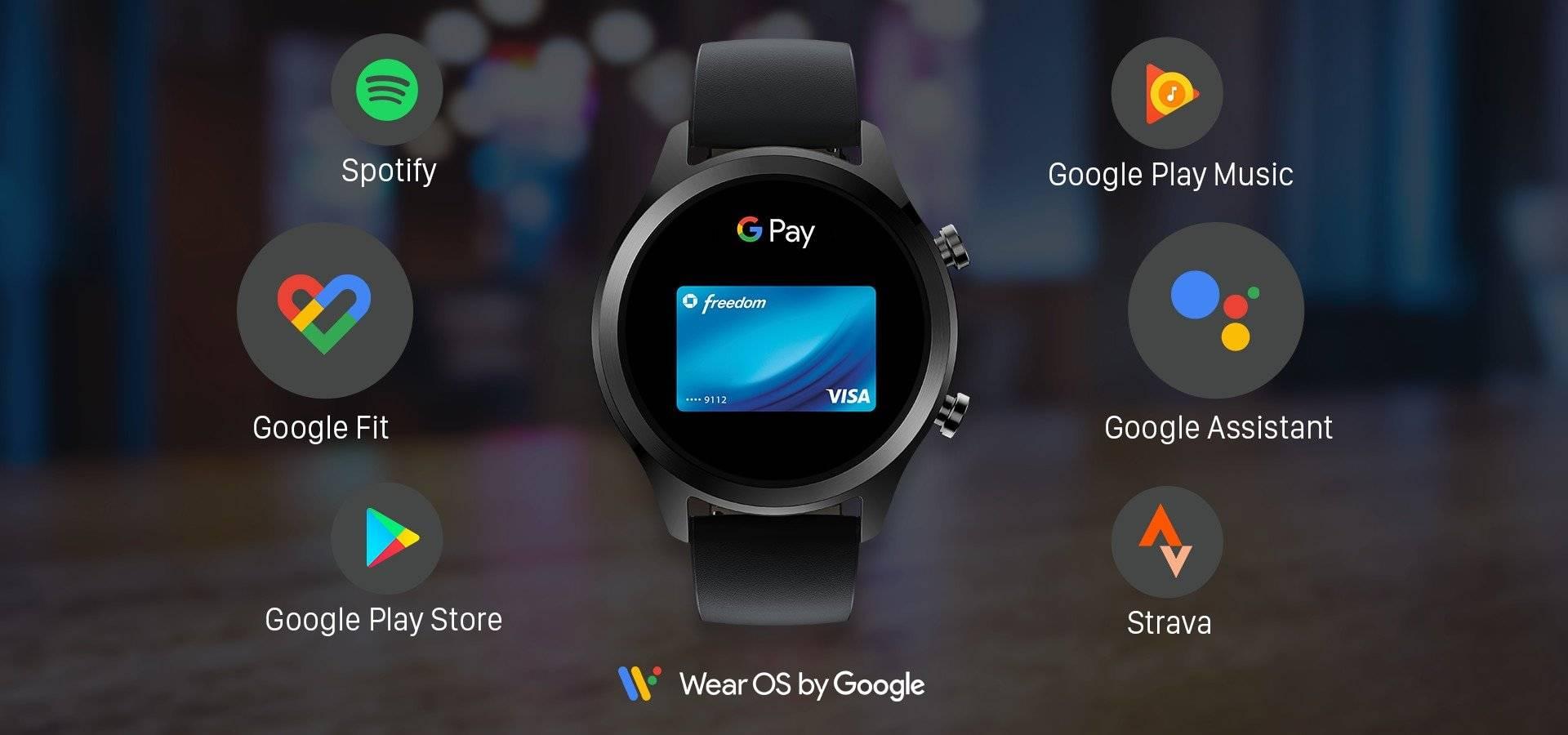 TicWatch C2 Plus Wear OS Smartwatch