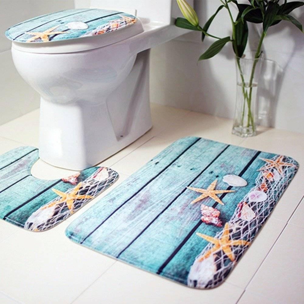 3Pcs/set Bathroom Mat
